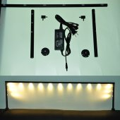TR522B LED Showcase Lighting Fixtures